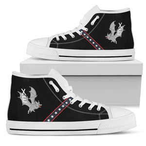 "VX-9 ""The Vampires"" Inspired Men's High Top Canvas Shoes - I Love a Hangar"