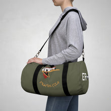 "Load image into Gallery viewer, B-26 ""Fightin' Cock"" Inspired Duffel Bag - I Love a Hangar"