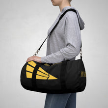 "Load image into Gallery viewer, VFA-151 'Vigilantes"" Inspired Duffel Bag (Yellow Side) - I Love a Hangar"