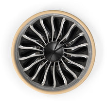 Load image into Gallery viewer, General Electric GEnx Turbofan Wall Clock - I Love a Hangar
