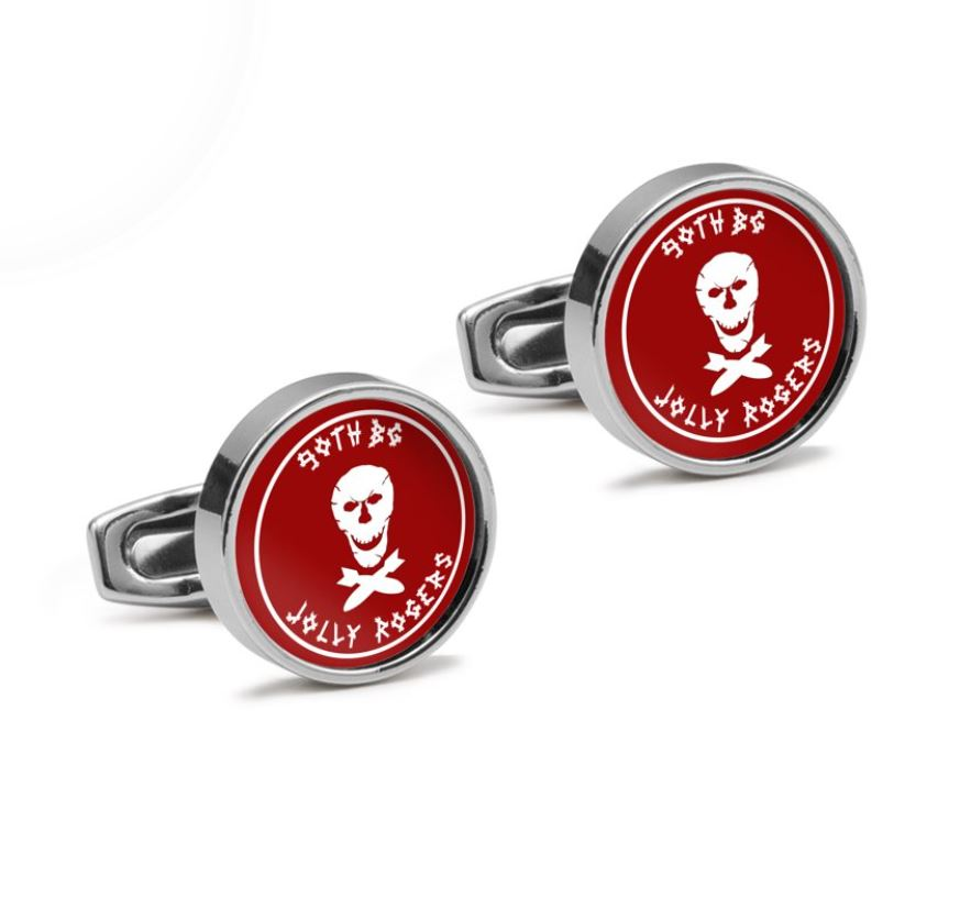 320th BS 90th Bomb Group Inspired Cufflinks - I Love a Hangar