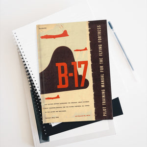 "B-17 'Flying Fortress"" Inspired Journal - I Love a Hangar"