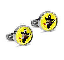 Load image into Gallery viewer, 400th BS 90th Bomb Group Insignia Cufflinks