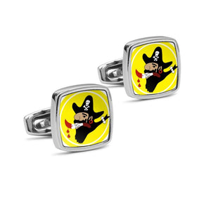 400th BS 90th Bomb Group Insignia Cufflinks