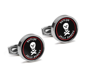 400th BS 90th Bomb Group Inspired Cufflinks - I Love a Hangar