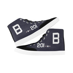 F8F Bearcat B-201 Men's Hi-Top Trainers - I Love a Hangar