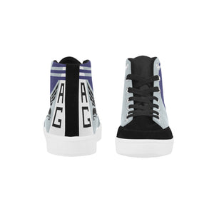 "VF-143 ""Pukin Dogs"" Men's Hi-Top Trainers - I Love a Hangar"