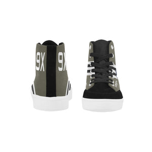 "C-47 ""The SNAFU Special"" Men's Hi-Top Trainers - I Love a Hangar"