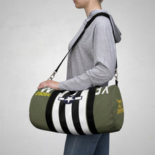 "Load image into Gallery viewer, C-47 ""That's All, Brother"" Inspired Duffel Bag - I Love a Hangar"