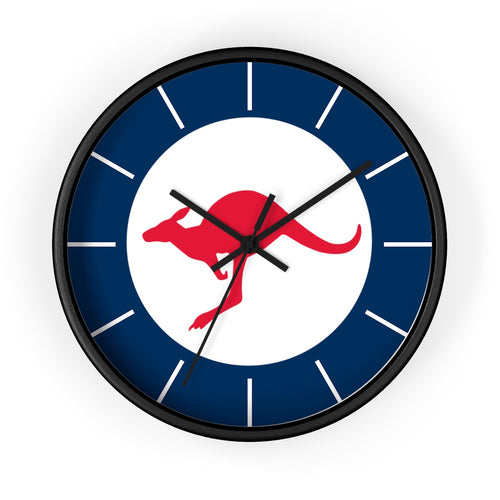 RAAF Wall Clock - I Love a Hangar