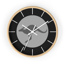 Load image into Gallery viewer, RAAF Roundel Grey Wall Clock - I Love a Hangar