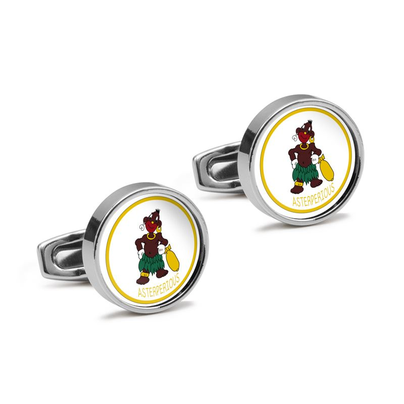 319th BS 90th BG Insignia Cufflinks - I Love a Hangar
