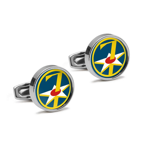 7th Air Force Inspired Cufflinks - I Love a Hangar