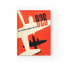 "Load image into Gallery viewer, B-26 ""Marauder"" Inspired Hardcover Journal - I Love a Hangar"