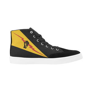 "VFA-25 ""Fist of the Fleet"" Men's Hi-Top Trainers - I Love a Hangar"