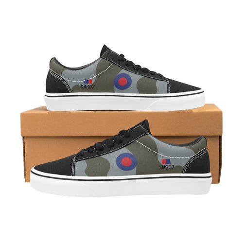 Avro Vulcan XM607 Women's Lace-Up Canvas Shoes - I Love a Hangar