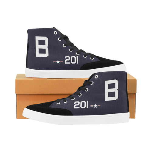 F8F Bearcat B-201 Women's Hi-Top Trainers - I Love a Hangar