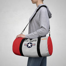 "Load image into Gallery viewer, P-51 ""Val-Halla"" Inspired Duffel Bag - I Love a Hangar"