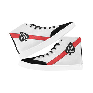 "VF-41 ""Black Aces"" Men's Hi-Top Trainers - I Love a Hangar"