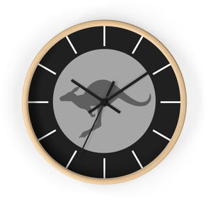 RAAF Roundel Grey Wall Clock - I Love a Hangar