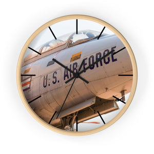 USAF Fighter Jet Wall clock - I Love a Hangar