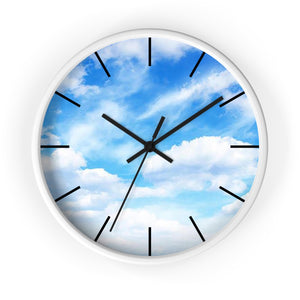 Blue Sky Wall Clock - I Love a Hangar