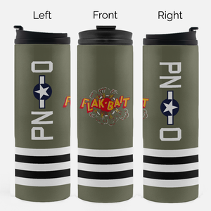 "B-26 ""Flak-Bait"" Inspired Thermal Tumbler (16 Oz.) - I Love a Hangar"