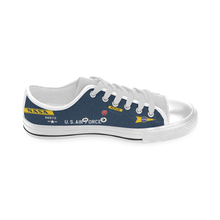 Load image into Gallery viewer, X-15 (56-6672) Inspired Kid's Low Top Canvas Shoes - I Love a Hangar