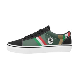 Spad XIII of Francesco Baracca Men's Lace-Up Canvas Shoes - I Love a Hangar