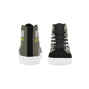 "C-47 ""That's All Brother"" Women's Hi-Top Trainers - I Love a Hangar"