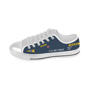 X-15 (56-6672) Inspired Kid's Low Top Canvas Shoes - I Love a Hangar