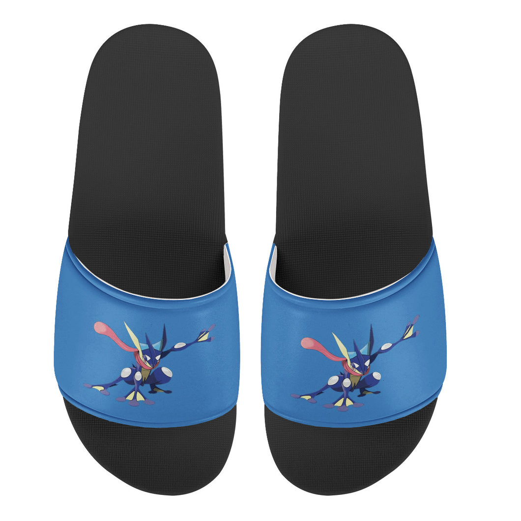 Sample for kids Sandal shoes Black Slide Sandals Shoes - I Love a Hangar