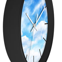 Load image into Gallery viewer, Blue Sky Wall Clock - I Love a Hangar