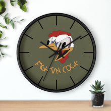 "Load image into Gallery viewer, B-26 ""Fightin' Cock"" Inspired Wall clock - I Love a Hangar"