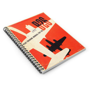 "B-26 ""Marauder"" Inspired Spiral Notebook - I Love a Hangar"