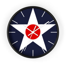 Load image into Gallery viewer, USAAC Wall Clock - I Love a Hangar