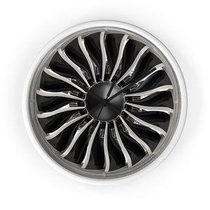 General Electric GEnx Turbofan Wall Clock - I Love a Hangar