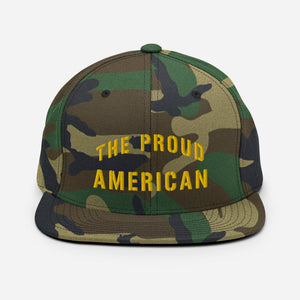 "Douglas A-1 Skyraider ""The Proud American"" Snapback Hat - I Love a Hangar"