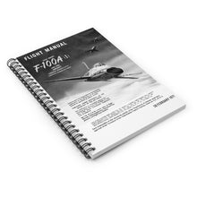 "Load image into Gallery viewer, F-100 ""Super Sabre"" Inspired Spiral Notebook - I Love a Hangar"