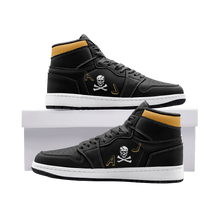 "Load image into Gallery viewer, VF-84 ""Jolly Rogers"" Inspired Men's High Top Sneakers - I Love a Hangar"