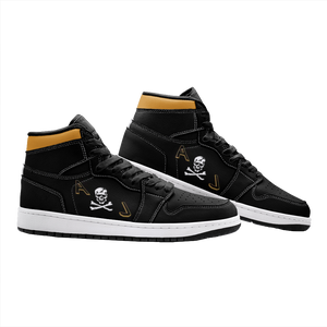"VF-84 ""Jolly Rogers"" Inspired Women's High Top Sneakers - I Love a Hangar"