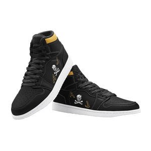 "VF-84 ""Jolly Rogers"" Inspired Men's High Top Sneakers - I Love a Hangar"
