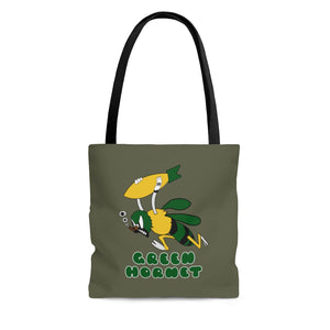 "A-20 ""Green Hornet"" Inspired Tote Bag - I Love a Hangar"