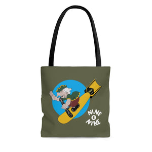 "B-17 ""Nine-O-Nine"" Inspired Tote Bag - I Love a Hangar"