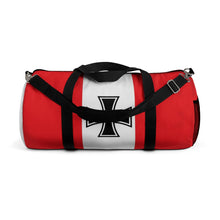 "Load image into Gallery viewer, The ""Red Baron"" Inspired Duffel Bag - I Love a Hangar"