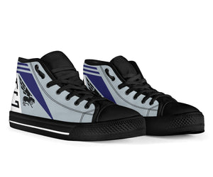 VF-143 Pukin' Dogs Inspired Women's High Top Canvas Shoes - I Love a Hangar