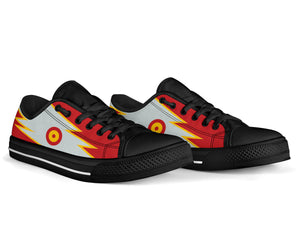 Casa C-101 Patrulla Ãguila Inspired Men's Low Top Canvas Shoes - I Love a Hangar