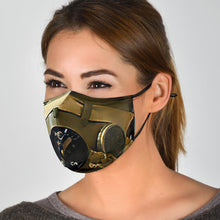 Load image into Gallery viewer, Face Mask - Inspired by WWII Fighter Pilot - I Love a Hangar
