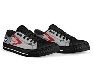"F-4J ""Showtime 100"" Inspired Women's Low Top Canvas Shoes - I Love a Hangar"