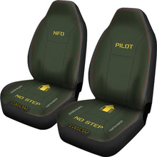 Load image into Gallery viewer, Martin-Baker Inspired Ejection Seat Car Seat Covers - Pilot/NFO - I Love a Hangar